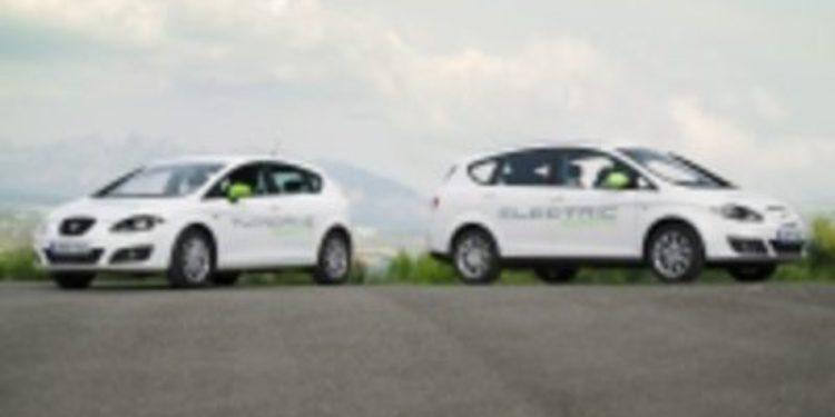 Seat presenta sus primeros vehículos híbrido y eléctrico