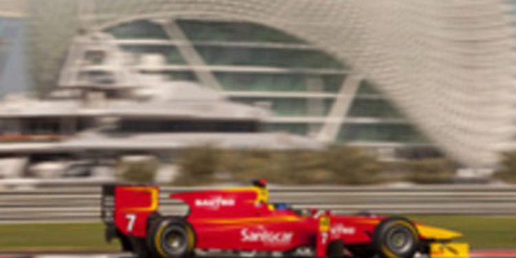 Fabio Leimer obtiene la pole de GP2 en Abu Dabi