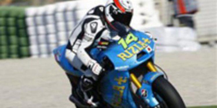 Randy de Puniet quiere subirse el próximo año a una Suzuki