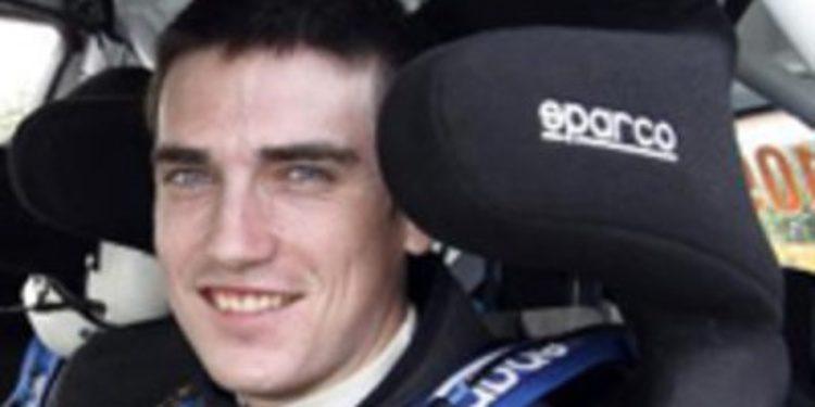 Craig Breen, campeón de la Academia WRC