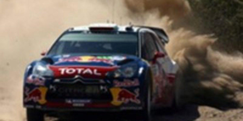 Loeb gana el Rallie de México tras el accidente de Ogier