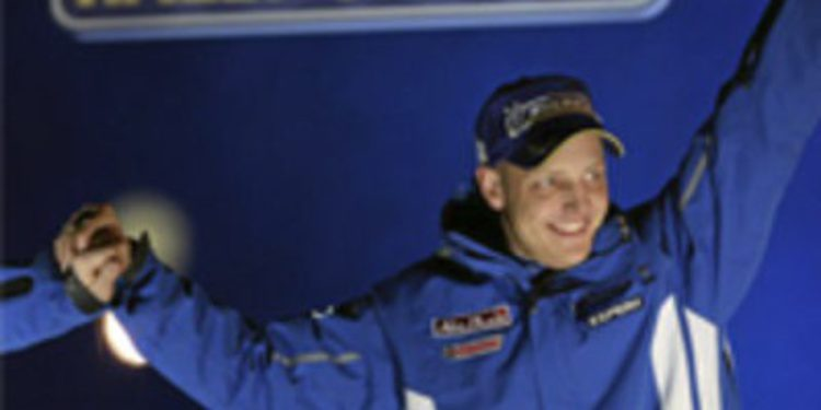 Mikko Hirvonen correrá con Citroën en el WRC a partir de 2012