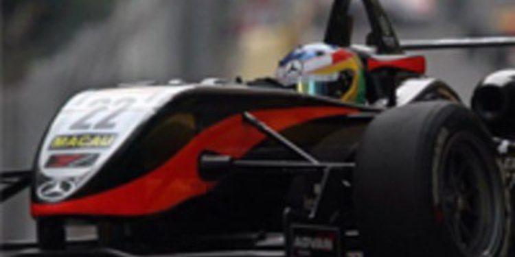 Roberto Merhi se queda con las ganas en el GP de Macao