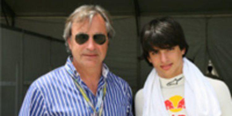 Carlos Sainz y su hijo correrán juntos los 500 km de Alcañiz