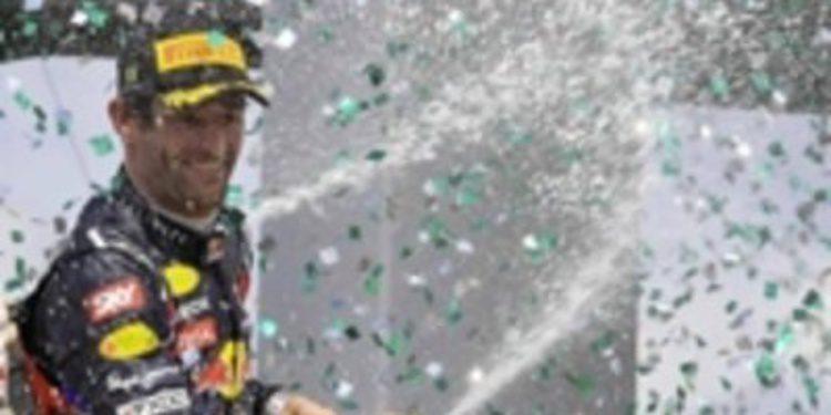 Mark Webber cerró el año con victoria en el GP de Brasil