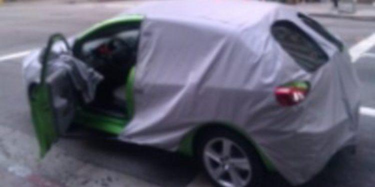 Nuevo Seat Ibiza 2012, fotos espía