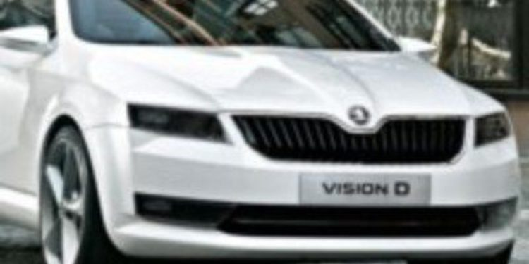 Nuevas imágenes del Skoda VisionD