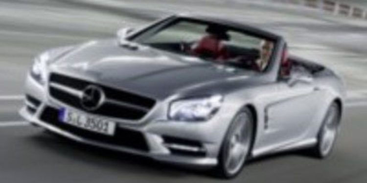 Nuevo Mercedes Benz SL disponible primavera de 2012