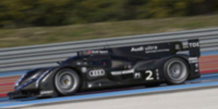 Audi realiza los primeros tests de su LMP1