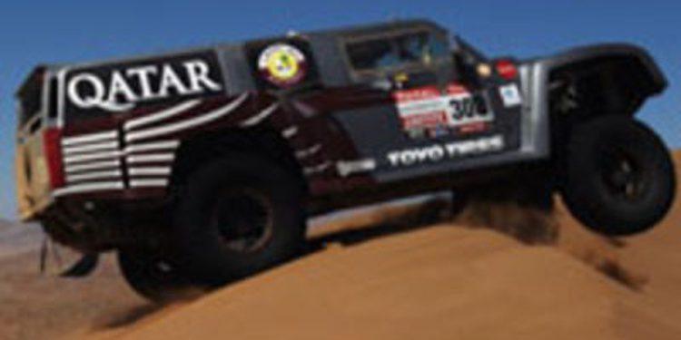 Nasser Al-Attiyah se retira del Dakar 2012 con problemas mecánicos