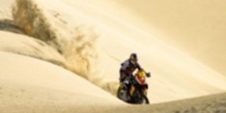 Cyril Despres se lleva el Dakar 2012 en motos, por delante de Marc Coma