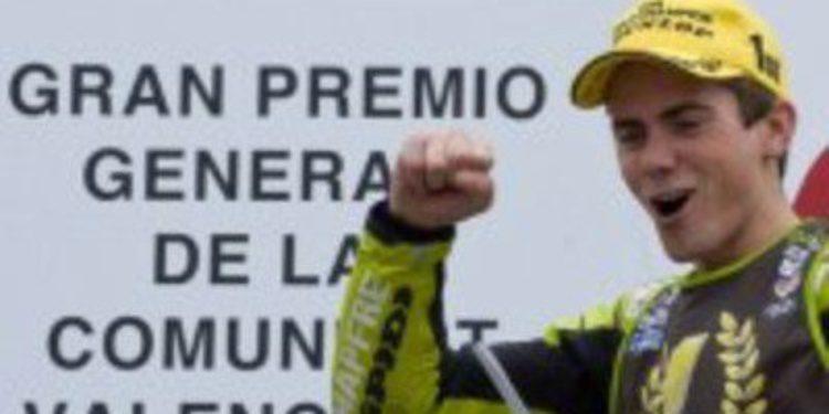 Nico Terol recibe el Pingüino de Oro 2012
