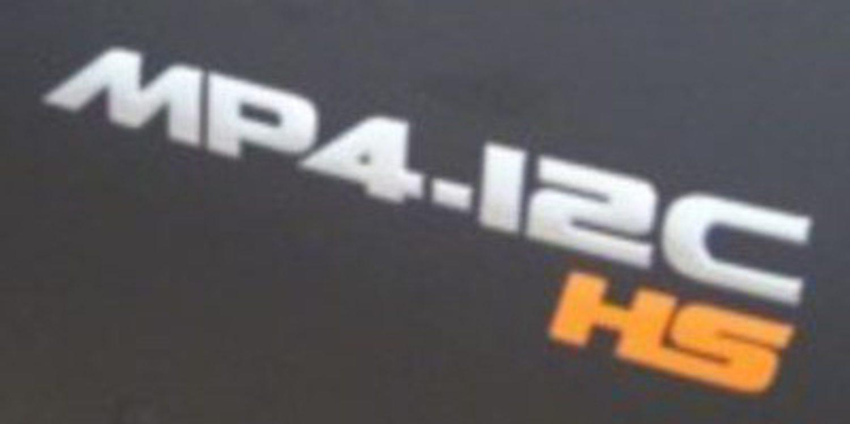 Edición hiperlimitada del McLaren MP4-12C