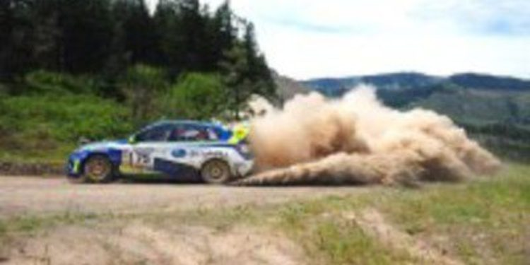 Subaru llega como equipo oficial para el IRC 2012
