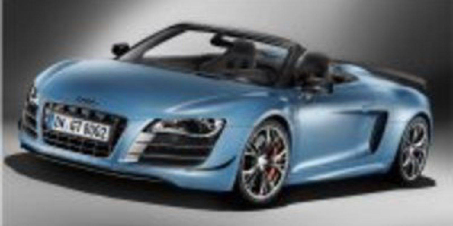 El Audi R8 GT Spyder, ya disponible