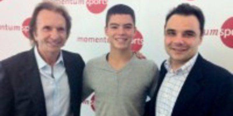 Eric Granado debutará en Moto2 con el apoyo de Emerson Fittipaldi
