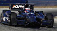 Rubens Barrichello realiza un test con el IndyCar de KV Racing