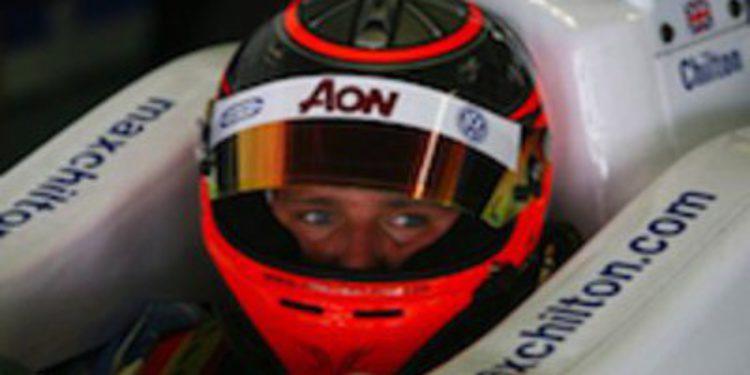 Max Chilton confirmado con el equipo Carlin de GP2