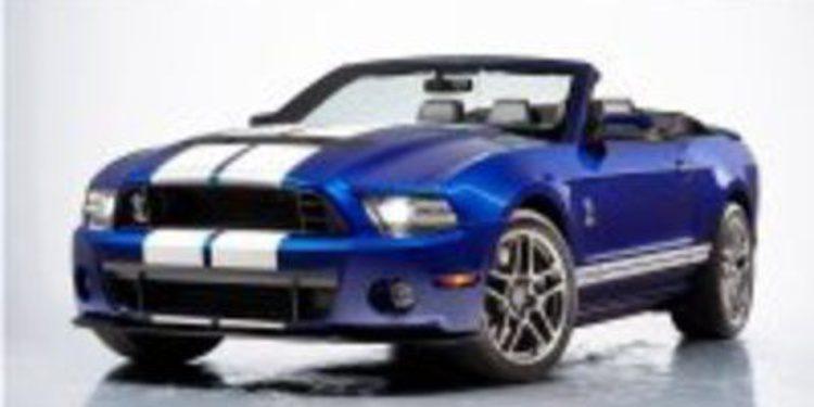 Ford ha presentado el Mustang Shelby GT Convertible en el salón de Chicago