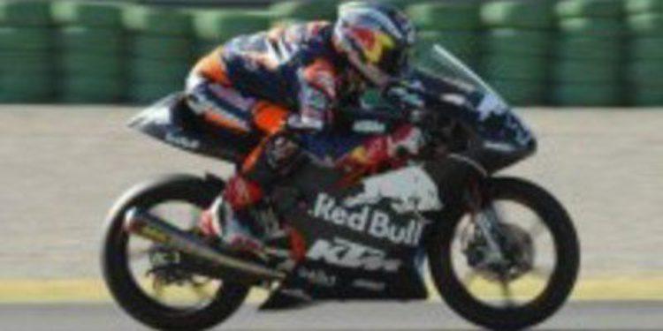 KTM y Sandro Cortese dominan en los test de Moto3