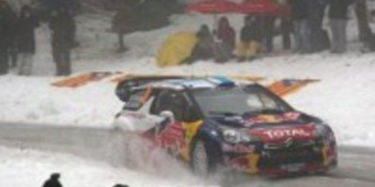 El orden de salida del viernes es definido para el Rally de Suecia