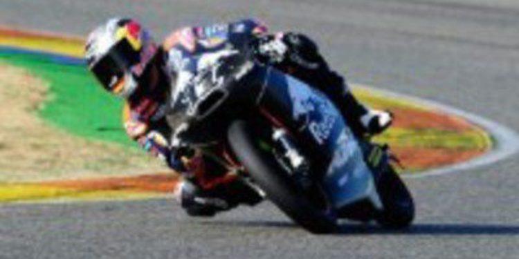 Sandro Cortese completa el pleno con su tiempo en Moto3