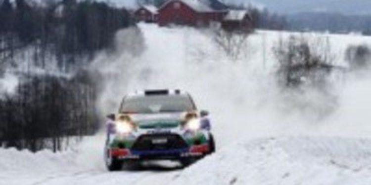 Latvala tiene el Rally de Suecia a tiro de piedra