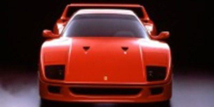 Conmemoración del 25 aniversario del Ferrari F40