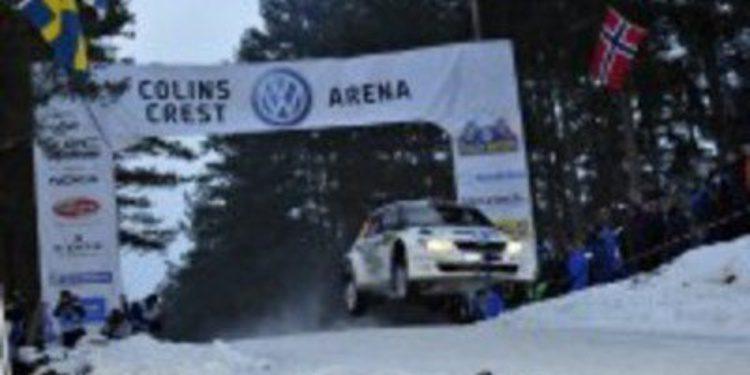 Volkswagen sale reforzado del Rally de Suecia
