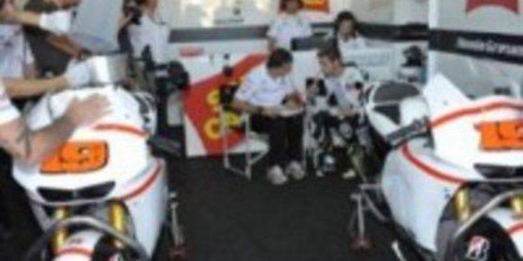 Gresini pondrá su CRT en marcha en Motorland