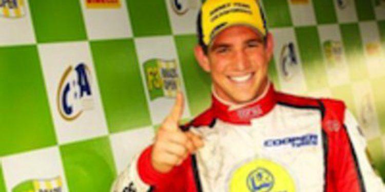 Lucas Foresti con DAMS en las World Series by Renault 3.5 de 2012
