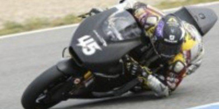 Scott Redding lidera segunda jornada de los test Moto2