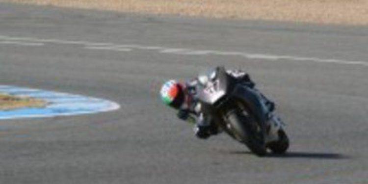 Claudio Corti se despide de Jerez mandando en Moto2