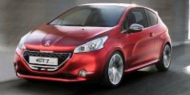 El 208 GTi será la estrella de Peugeot en el Salón de Ginebra