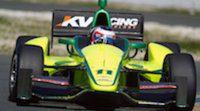 Rubens Barrichello vuelve a probar con KV Racing a la espera de cerrar su acuerdo