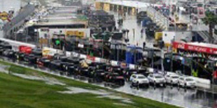 Las 500 Millas de Daytona se aplazan por la lluvia