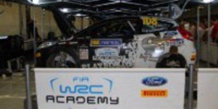 Decoración e inscripción cerradas para la WRC Academy