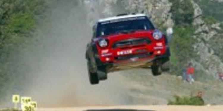 El Mini WRC 01B es testeado y estará en Portugal