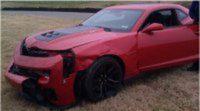 El productor de Top Gear destroza un Chevrolet Camaro
