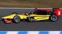 Arranca la pretemporada de GP2 con Davide Valsecchi y DAMS en cabeza