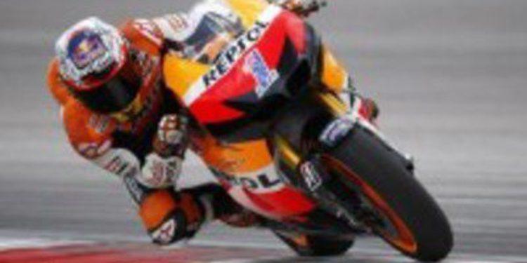 El equipo Honda desaprovecha la segunda jornada de test