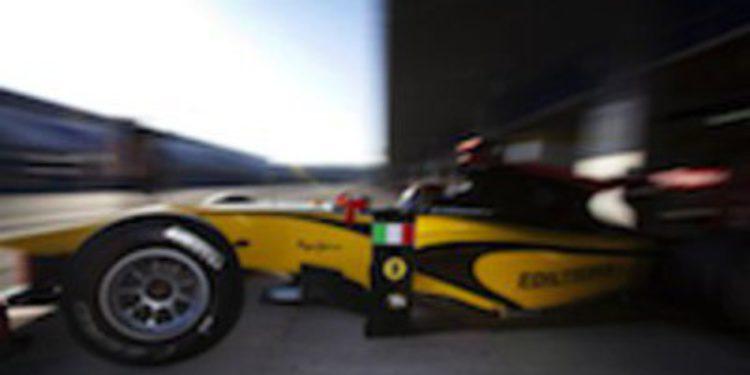 Davide Valsecchi presenta su candidatura al título dominando también la segunda jornada de test GP2