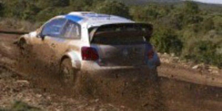 Volkswagen continúa sus pruebas del Polo R WRC en Andalucía