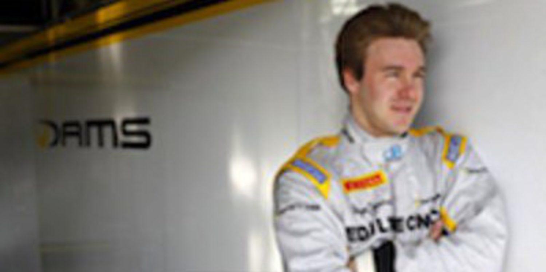 Davide Valsecchi pone una marcha más en la tercera jornada de test de GP2 en Jerez