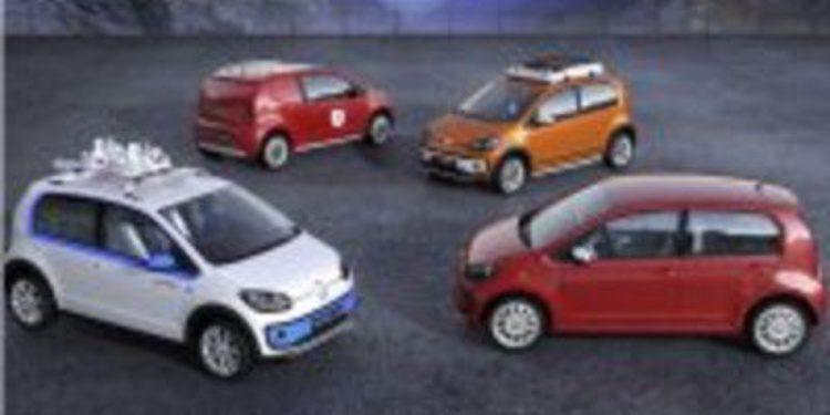 4 nuevas versiones para el estrenado VW Up!