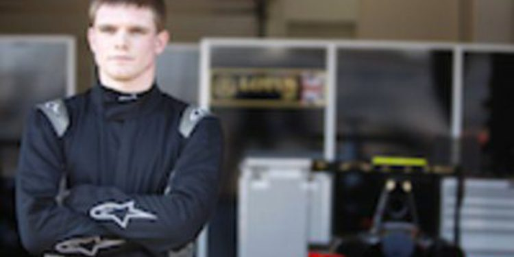 Conor Daly completa la alineación de Lotus GP para las GP3 Series