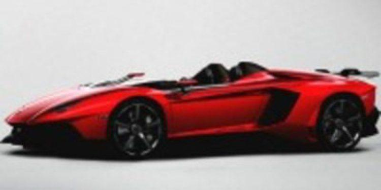 Lamborghini golpea el mundo de los deportivos con el Aventador J