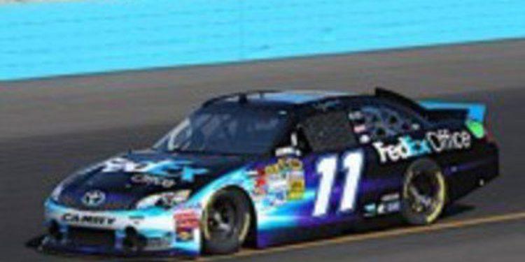 Denny Hamlin se lleva la victoria en Phoenix