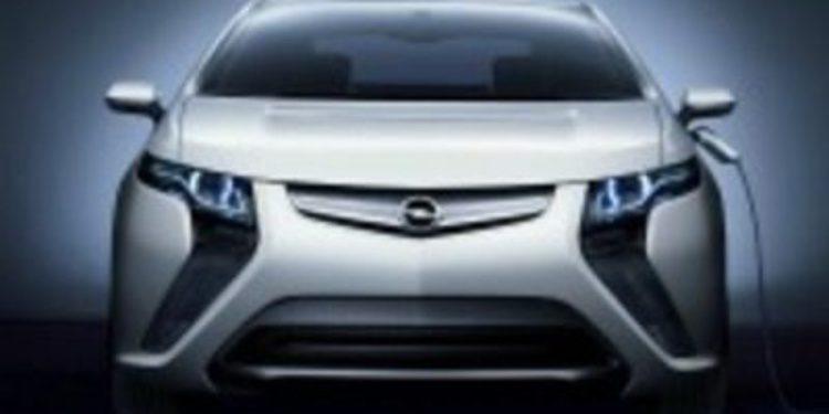 Opel Ampera galardonado como mejor coche del 2012
