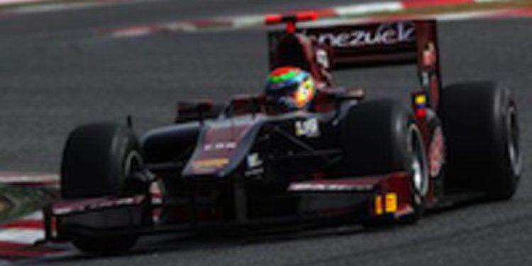 Fabrizio Crestani marca el ritmo en la primera jornada de test de GP2 en Montmeló